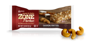 ZonePerfect Cashew Pretzel protein bar