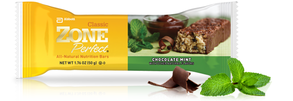 ZonePerfect Chocolate Mint bar