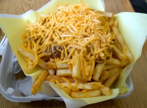 Chili Cheese Fries at The Hat